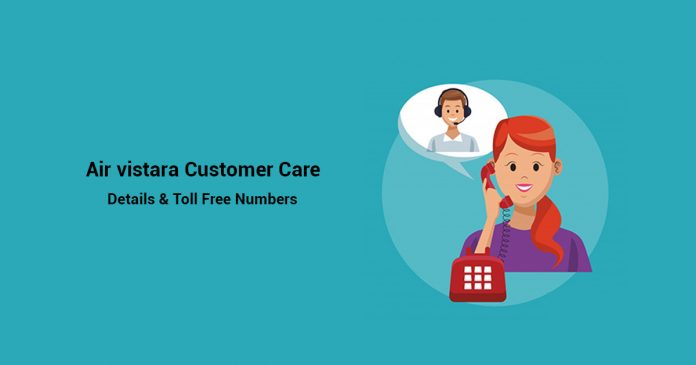 Air Vistara Customer Care