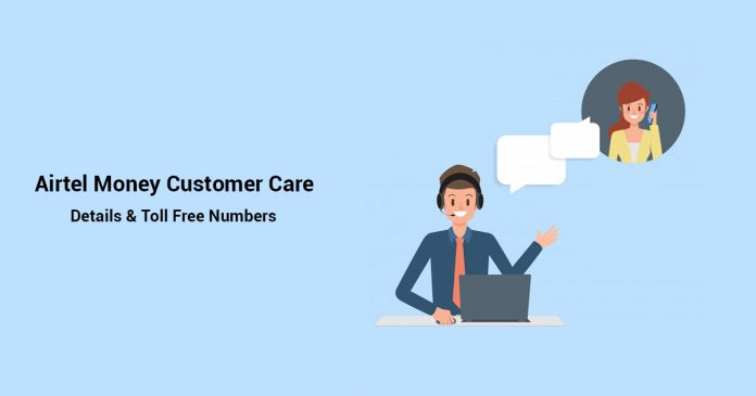 Airtel money customer care