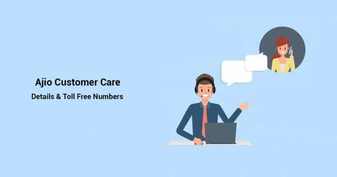 Ajio customer care number