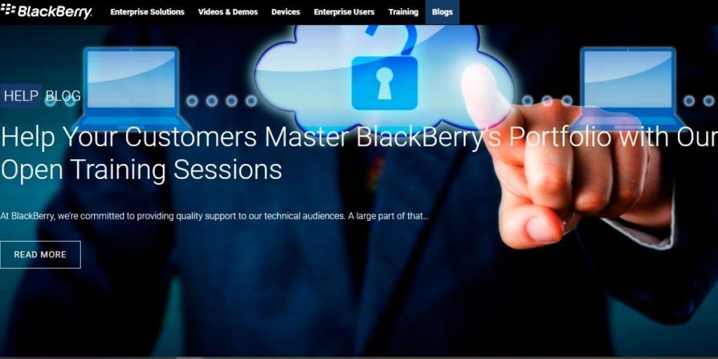 BlackBerry Help Blog