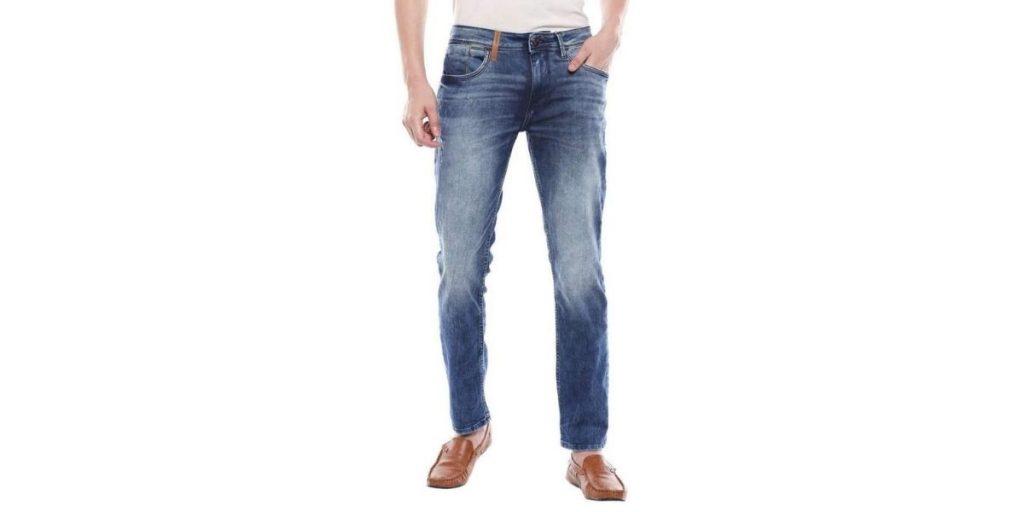 Ed Hardy Washed Medium Rise Slim Fit Jeans