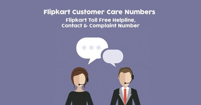 Flipkart Complaint Numbers