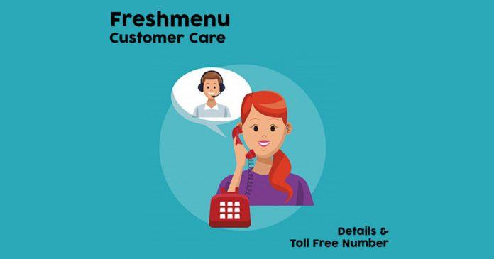 FreshMenu Customer Care Details