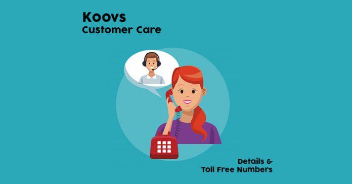 Koovs Customer Care Numbers