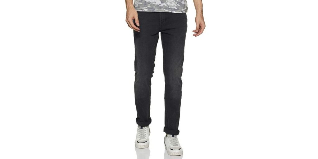 Red Tape Grey Skinny Fit Jeans