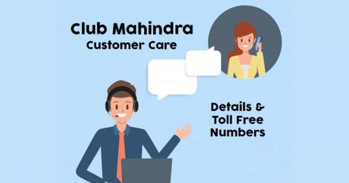 Club Mahindra Customer Care