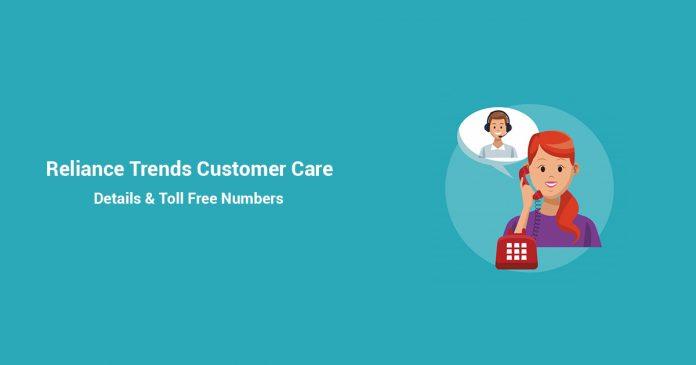 Reliance Trends Customer Care