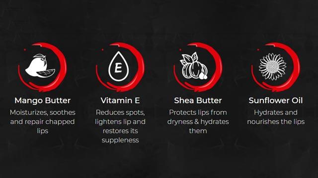 Ingredients of Beardo Lip Lightner