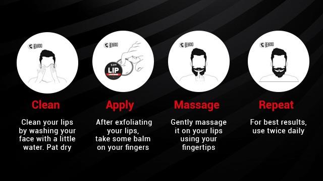 How to use Beardo Lip Lightner