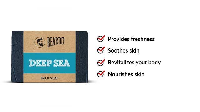 Deep-Sea Brick Soap