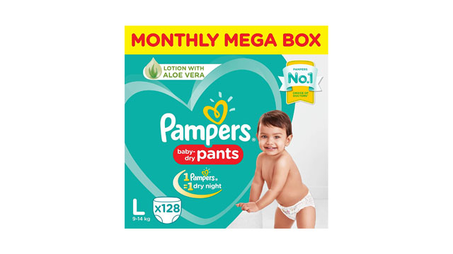 Pampers Baby Dry Pants Diapers Monthly Mega Box