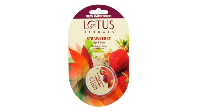 Lotus Herbals – Strawberry Lip Balm