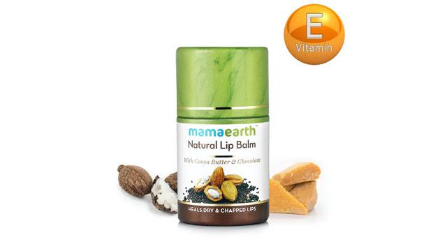 Mamaearth Lip Balm - Chocolate Natural Lip Balm