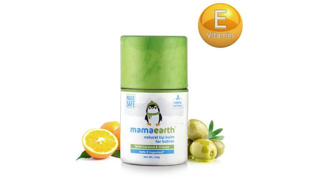 Mamaearth Lip Balm - Natural Baby Lip Balm for Babies