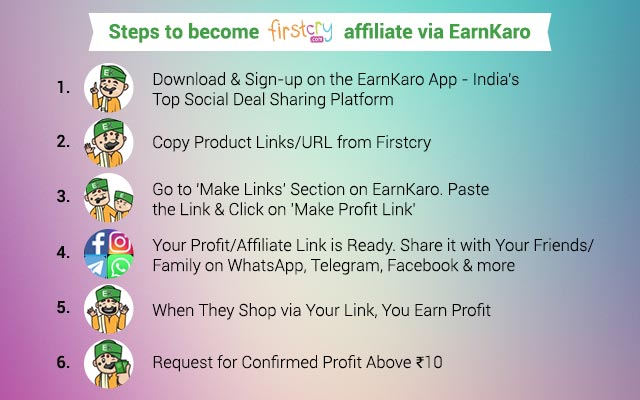 Firstcry Affiliate Program