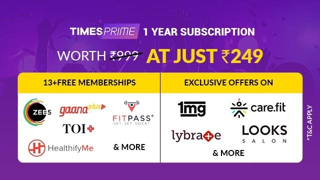 Times Prime benefits
