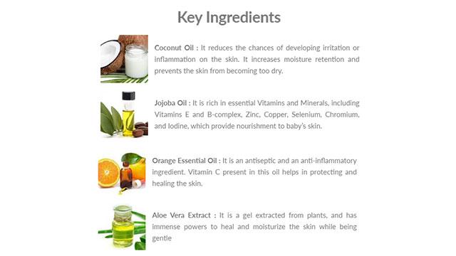 Deeply Nourishing Body Wash Key Ingredients