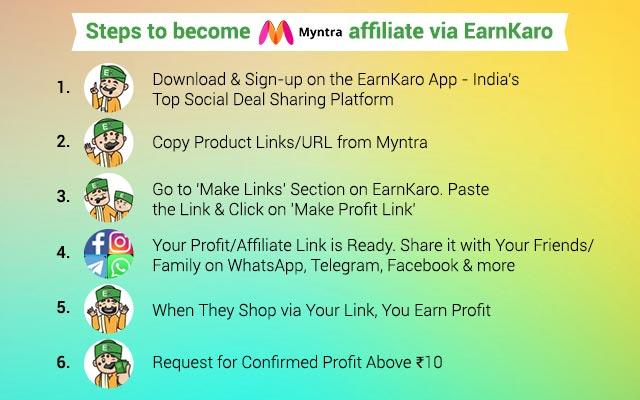 Myntra Affiliate Program