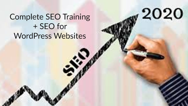 Complete SEO Train ing Course on Udemy