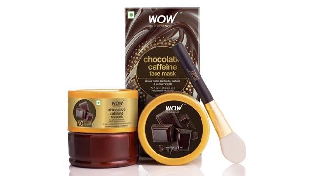 WOW Skin Science Chocolate Caffeine Face Mask