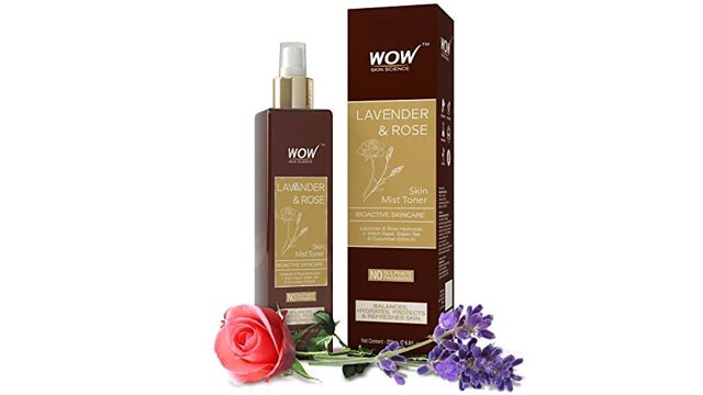 WOW Skin Science Lavender & Rose Skin Mist Toner