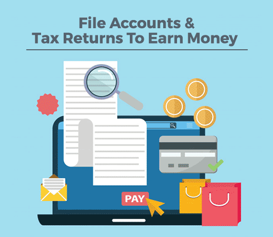 File Accounts & Tax