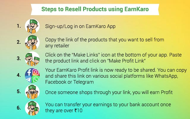 How To Resell Using EarnKaro