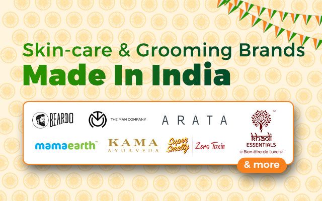 Skincare and Grooming Brands Made In India