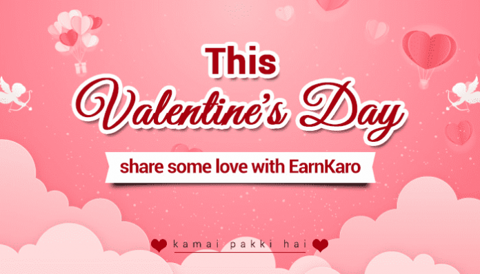 Earn on Valentine's Day