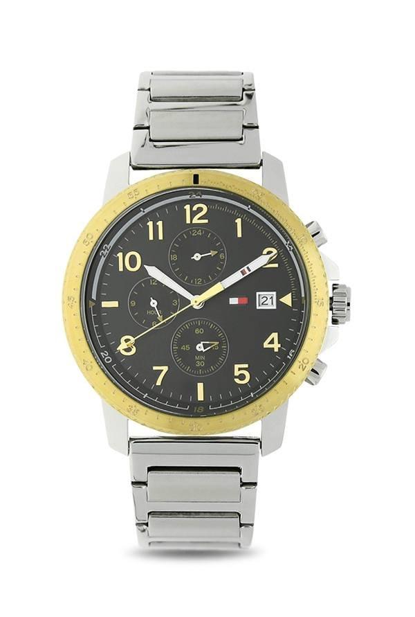 Tommy Hilfiger TH1791361J Black Dial Analog Men's Watch (TH1791361J)