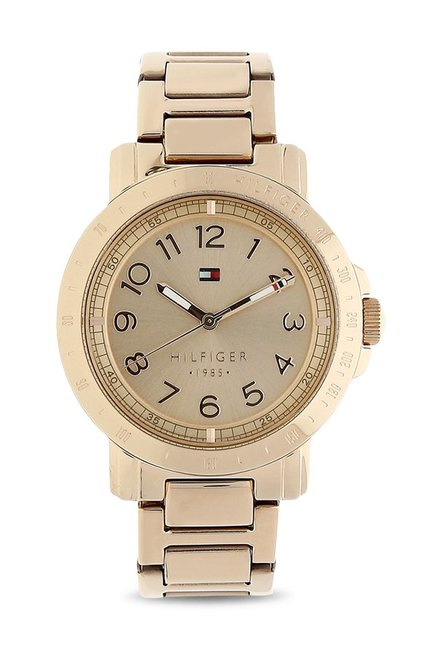 Tommy Hilfiger TH1781396 Gold Dial Analog Women's Watch (TH1781396)