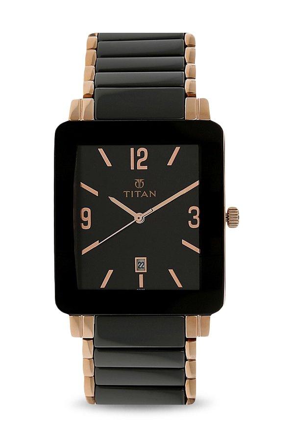 Titan Regalia NK90013WD01 Black Dial Analog Men's Watch (NK90013WD01)