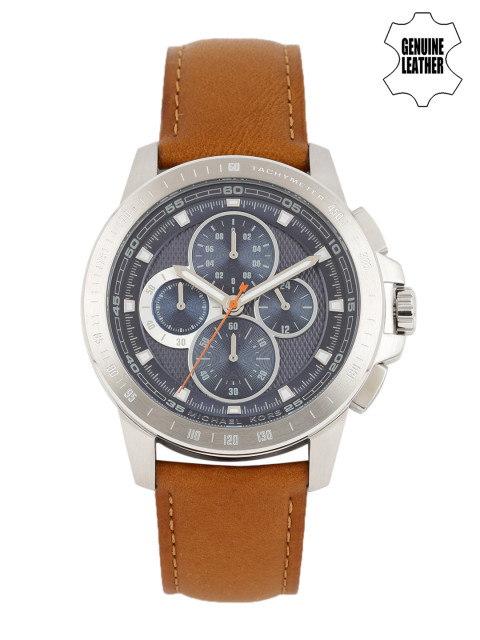 Michael Kors MK8518I Blue Textured Chronograph Men's Watch