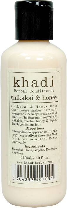 Khadi Pure Herbal Shikakai Honey Hair Conditioner 210ml