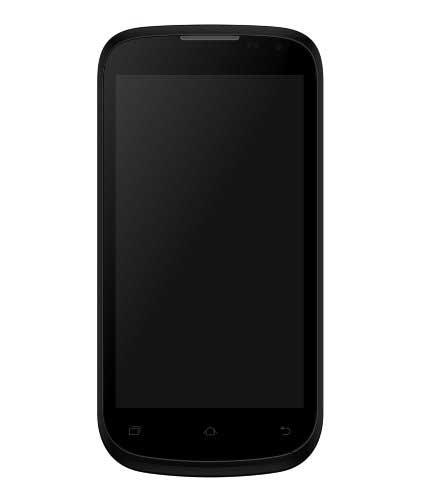 Micromax Canvas Elanza A93 (Micromax A93) 4GB Black Silver Mobile
