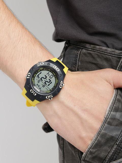 Sonata NK77035PP03 SF Grey Dial Digital Men's Watch
