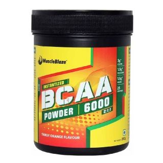 MuscleBlaze BCAA 6000 (0.44lbs, Orange)