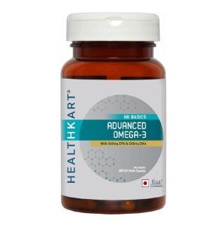 Healthkart Advance Omega-3 With 360mg Epa & 240mg Dha (60 Capsules)
