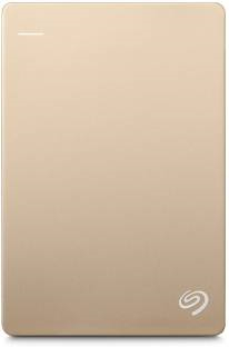 Seagate Backup Plus Slim 1 TB Wired External Hard Disk Drive Gold