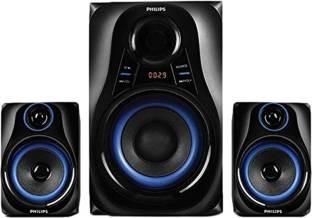 Philips MMS2580B Blue Dhoom Speaker System