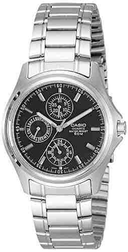 Casio MTP-1246D-1AVDF (A220) Analog Black Dial Men's Watch (MTP-1246D-1AVDF (A220))