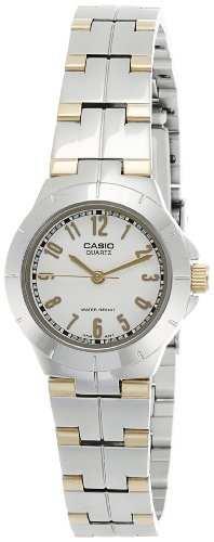 Casio Enticer LTP-1242SG-7ADF (A375) Analog White Dial Women's Watch (LTP-1242SG-7ADF (A375))