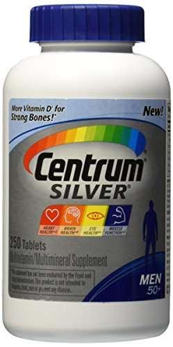 Centrum Silver Men 50 Dietary Supplement (250 Capsules)