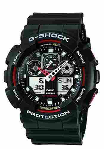 Casio G-Shock GA-100-1A4DR (G272) Analog Digital Black Dial Men's Watch (GA-100-1A4DR (G272))