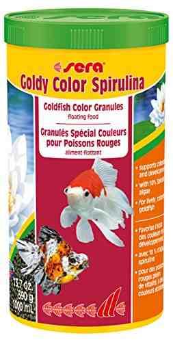 Sera Goldy Gran Color Spirulina Fish Food 1000 ml