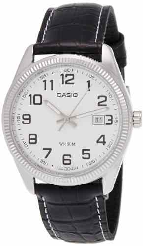 Casio Enticer MTP-1302L-7BVDF (A490) Analog White Dial Men's Watch (MTP-1302L-7BVDF (A490))