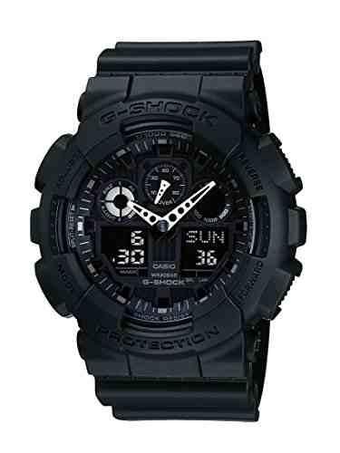 Casio G-Shock GA-100-1A1DR (G270) Analog-Digital Black Dial Men's Watch (GA-100-1A1DR (G270))