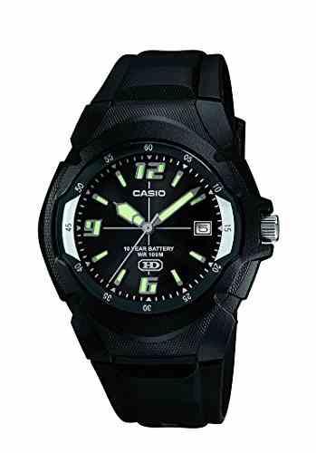 Casio Enticer MW-600F-1AVDF (A505) Analog Black Dial Men's Watch (MW-600F-1AVDF (A505))