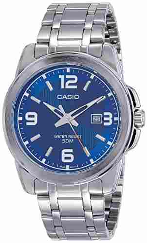 Casio Enticer MTP-1314D-2AVDF (A551) Analog Blue Dial Men's Watch (MTP-1314D-2AVDF (A551))