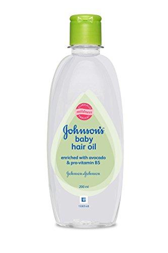 Johnsons Baby Hair Oil, 200 ml